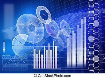 Innovative technologies - Digital background image with ...