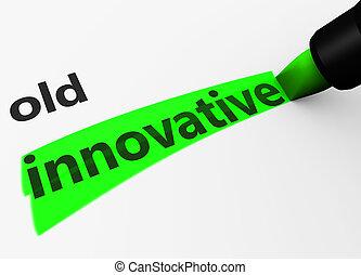 Innovative Vs Old Concept