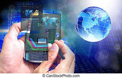 innovativo, computer, internet