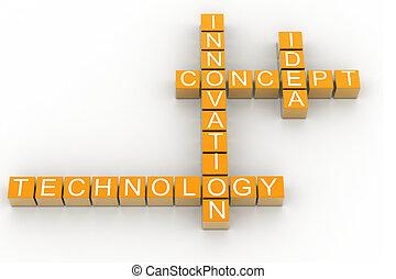 innovazione, 3d, cubi