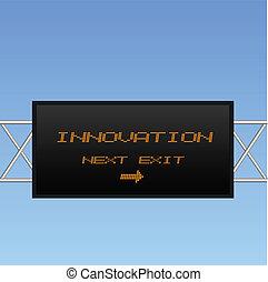 innovazione, segno