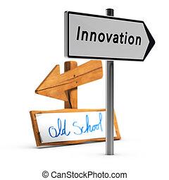 innowacyjny, handlowy