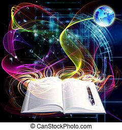 innowacyjny, internet, wykształcenie
