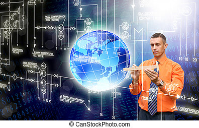 innowacyjny, komputery, technologia