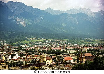 Innsbruck City Panorama