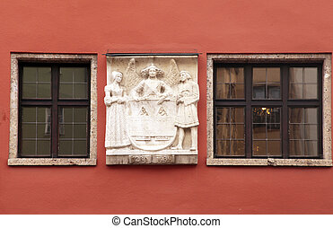 Innsbruck windows, Austria, Tyrol