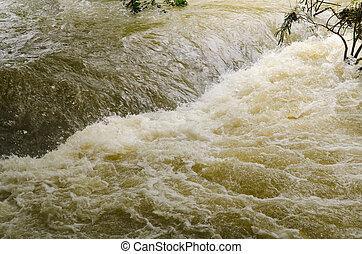 inondation, flash