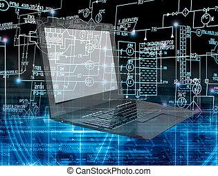 inovação, conexão, tecnologia