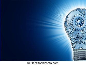 inovação, e, idéias