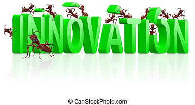 inovação, pesquisa, e, invente