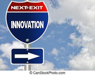 inovação, sinal estrada