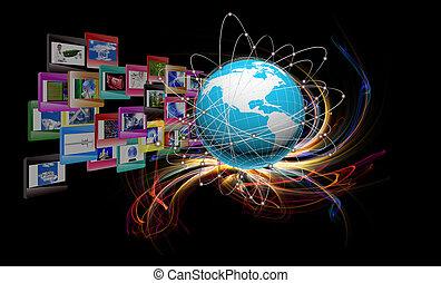 inovador, internet, educação