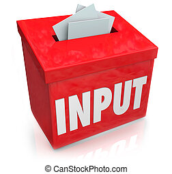 Input Word Suggestion Feedback Collection Box