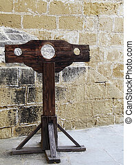 Inquisition Stocks - Medieval authentic inquisition stocks...