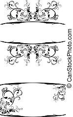 inramar, ornamental, dekor