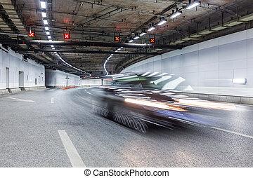 inre, av, en, urban, tunnel