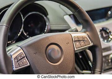 inre, bil, affär