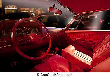 inre, bil, lyxvara