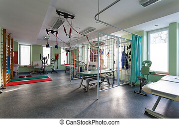 inre, fysioterapi, Klinik
