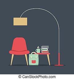 inre, nymodig, design, furniture.