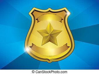 insígnia policial