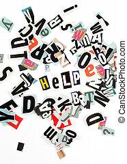 inscripción, ayuda