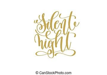 inscripción, silencioso, letras, mano, noche, feriado, ...