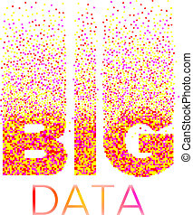 inscriptie, groot, data, analyse, van, information.
