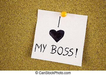 inscription, amour, boss., note collante, planche, bouchon,...