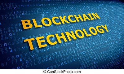Inscription blockchain technology appears on the blue background of the display screen.