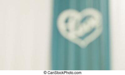 Inscription Love - Decorative inscription Love in heart