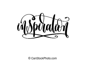 inscription, main, -, inspiration, lettrage