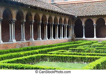 insde, jacobins, convento de monjas, des, iglesia, o, eglise