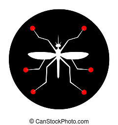 Insect science - Creative design of insect science icon