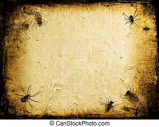 insecten, grunge