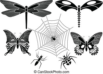 insectes, ensemble
