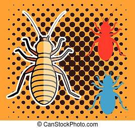 insectes, pou