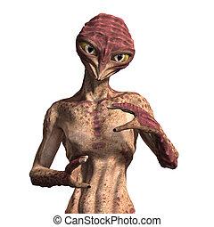 Insectoid Alien