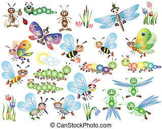 insectos, conjunto