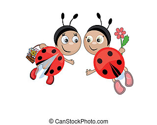 Insects.Ladybugs