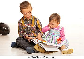 insegnamento, sorella, fratello, suo