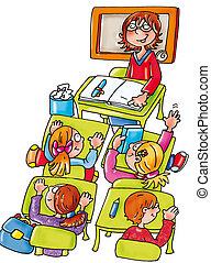 insegnante, classe