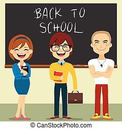 insegnanti, set