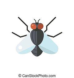 fliegen wohnung freigestellt biene insekt hintergrund wei es ikone libelle heuschrecke. Black Bedroom Furniture Sets. Home Design Ideas