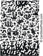insekten, doodles