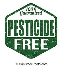 insektsmedel, gratis, stämpel