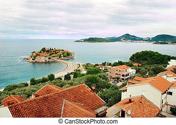 insel, in, adriatisches meer