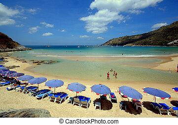 Insel Phuket - nayharnbeach insel Phuket Suedthailand
