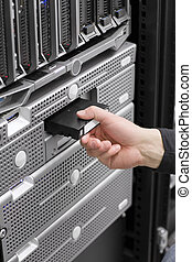 Insert Backup Tape - A IT engineer / technician / consultant...