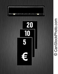 insert euro coins